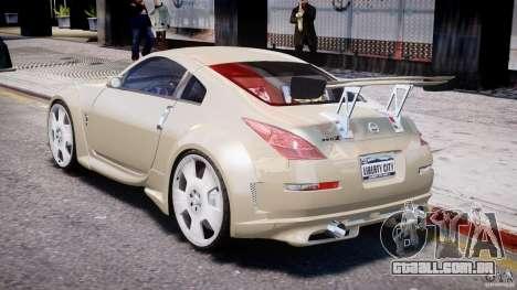 Nissan 350Z Veilside Tuning para GTA 4 vista direita
