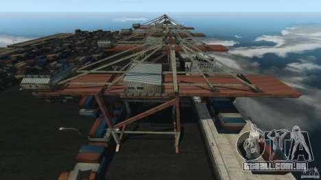 Tokyo Docks Drift para GTA 4 terceira tela