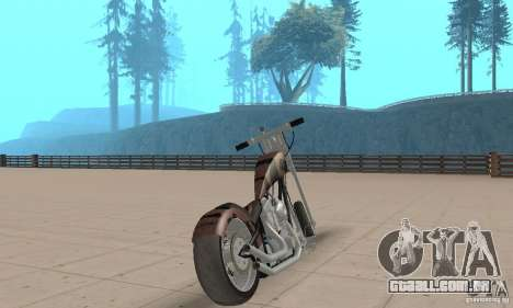 Desperado Chopper para GTA San Andreas esquerda vista