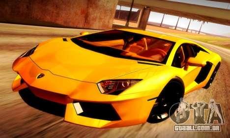 Lamborghini Aventador LP 700-4 para GTA San Andreas
