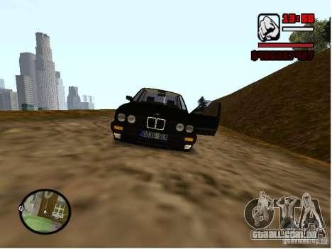 BMW 325i E30 para GTA San Andreas vista direita