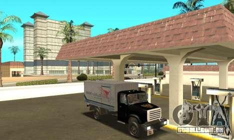 ZIL 433112 com tuning para vista lateral GTA San Andreas