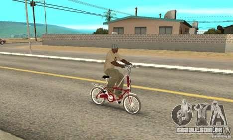 Child Bicycle para GTA San Andreas vista direita