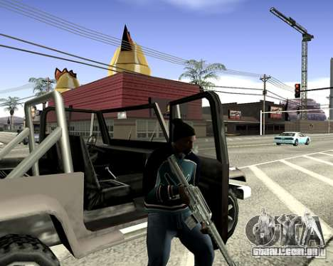 Tampa do sistema para GTA San Andreas décimo tela