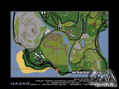 Nova cidade v1 para GTA San Andreas nono tela