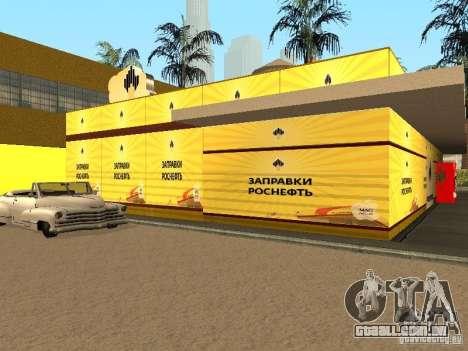 Novos postos de gasolina de texturas para GTA San Andreas segunda tela