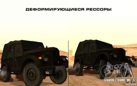 Painel ativo v. 3.2 (b) para GTA San Andreas segunda tela