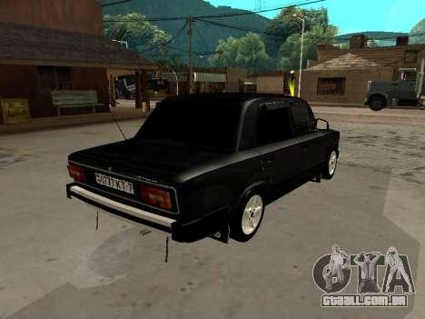 21065 v 2.0 VAZ para GTA San Andreas vista direita