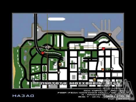 Restaurante em San Fierro para GTA San Andreas segunda tela
