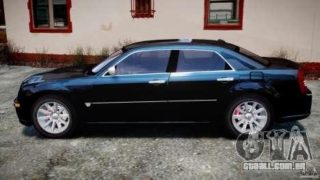 Chrysler 300C SRT8 Tuning para GTA 4 esquerda vista
