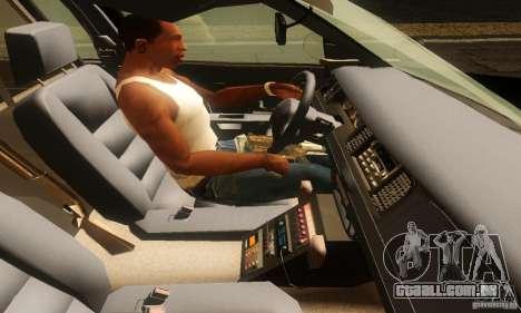 Ford Crown Victoria Montana Police para GTA San Andreas traseira esquerda vista