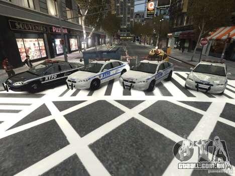 Chevrolet Impala 2006 NYPD Traffic para GTA 4 vista interior