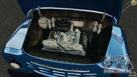 ZIL-431410 1986 v 1.0 para GTA 4 vista interior
