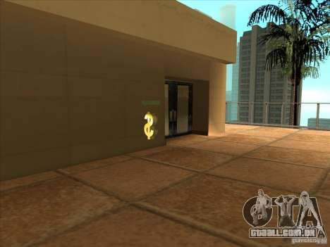 Negócio jurídico Cidžeâ para GTA San Andreas quinto tela