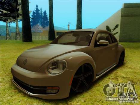 Volkswagen New Bettle 2013 Edit para GTA San Andreas esquerda vista