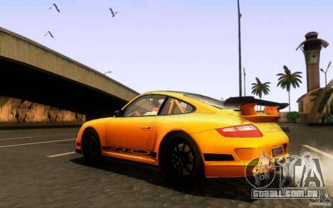 Porsche 911 GT3 RS para vista lateral GTA San Andreas