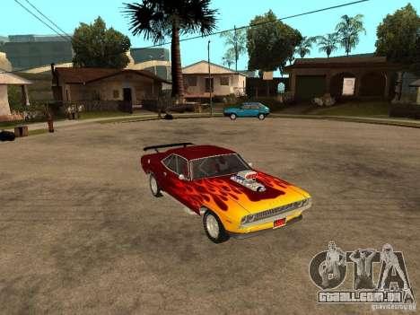 Dodge Challenger Tuning para GTA San Andreas vista direita