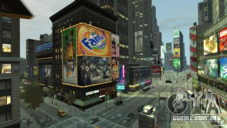 Real Time Square mod para GTA 4 quinto tela