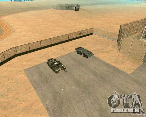 Priparkovanyj transporte v 3,0-de-Final para GTA San Andreas