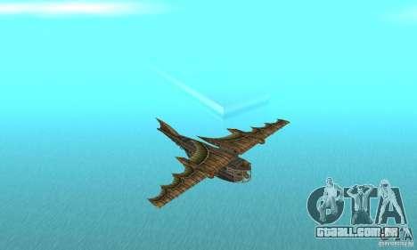Belo avião de TimeShift para GTA San Andreas