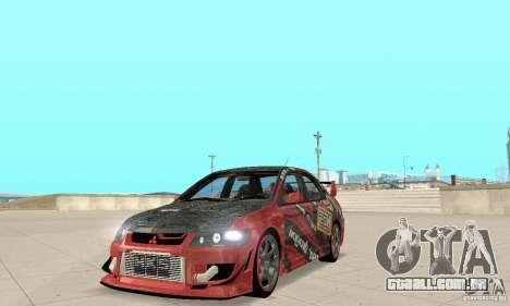 Mitsubishi Lancer Evolution 8 para GTA San Andreas