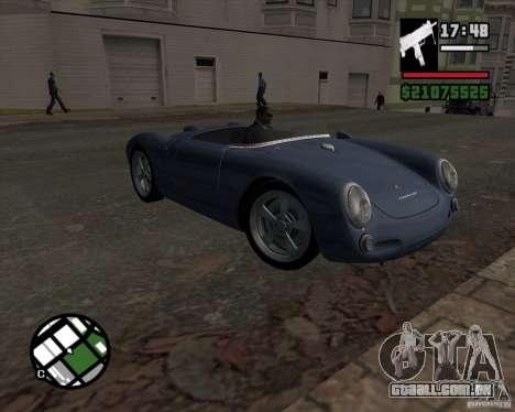 Porsche 550 para GTA San Andreas vista traseira