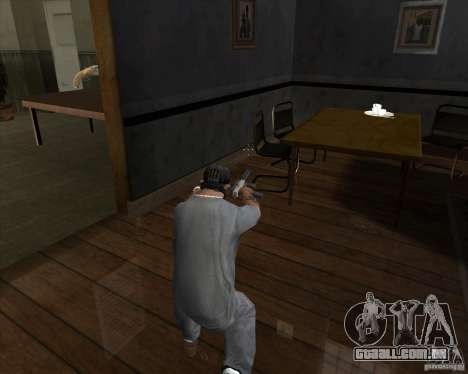 Ingram MAC-10 de Counter-strike para GTA San Andreas terceira tela