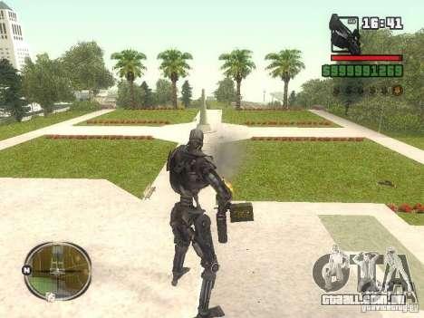 T-600 para GTA San Andreas terceira tela