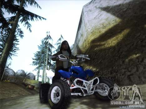Bike Pure para GTA San Andreas vista direita