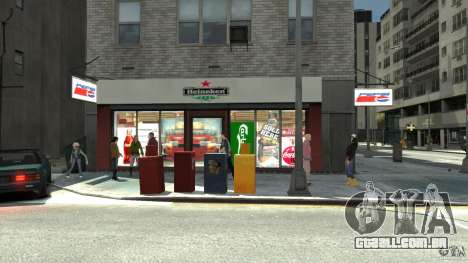 New gas station para GTA 4 quinto tela
