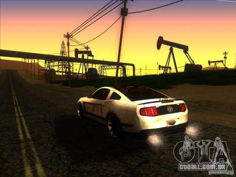 ENBSeries by Fallen v2.0 para GTA San Andreas por diante tela