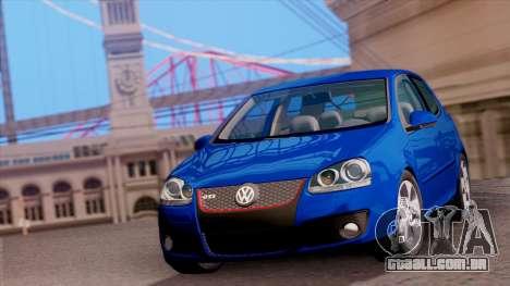 VW Golf V GTI 2006 para GTA San Andreas