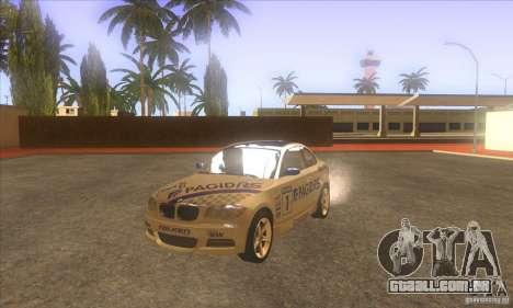 BMW 135i (E82) para GTA San Andreas vista interior