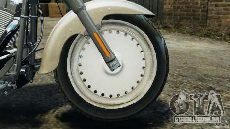 Harley Davidson Softail Fat Boy 2013 v1.0 para GTA 4 vista interior