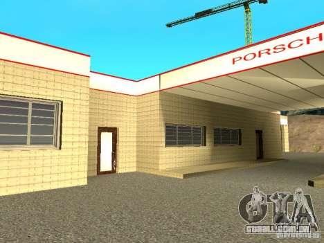 Porsche garagem para GTA San Andreas terceira tela