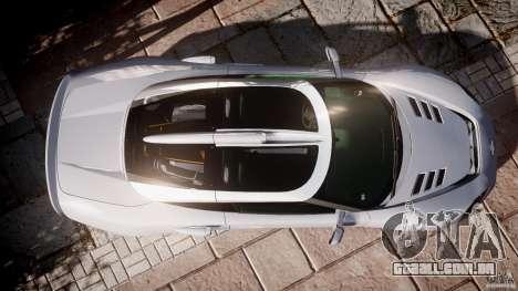Spyker C8 Aileron v1.0 para GTA 4 vista de volta