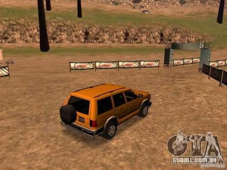 Mountainstalker S para GTA San Andreas vista traseira