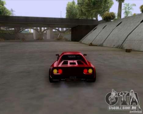 Ferrari 288 GTO para GTA San Andreas vista direita