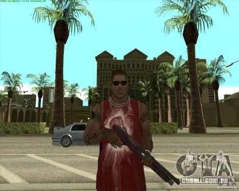 Blood Weapons Pack para GTA San Andreas sexta tela