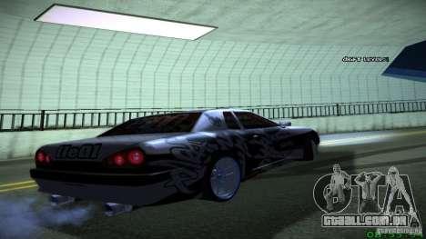 Elegy by LeM para GTA San Andreas vista direita
