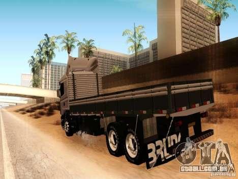 Scania 124G R400 para GTA San Andreas vista direita