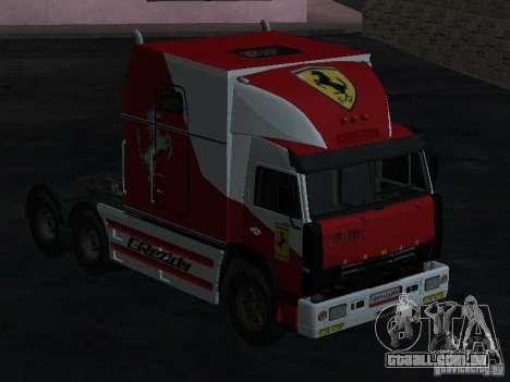 SECRETARIADO KAMAZ-54112 para GTA San Andreas
