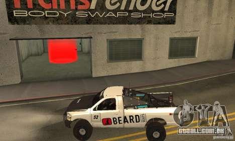 Dodge Power Wagon Paintjobs Pack 2 para GTA San Andreas esquerda vista