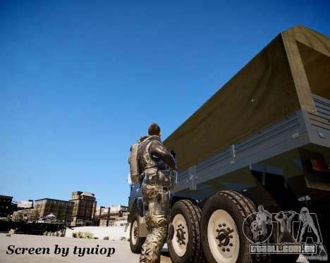 Modern Warfare 2 Soap para GTA 4 terceira tela