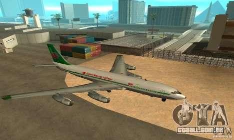 Cyber Warrior Plane para GTA San Andreas