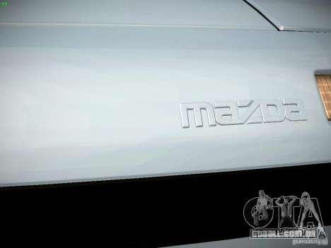 Mazda RX-7 FC3S para GTA San Andreas vista interior