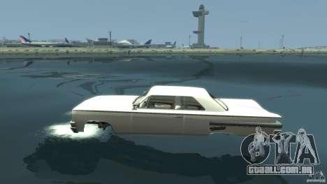 Voodoo Boat para GTA 4 esquerda vista