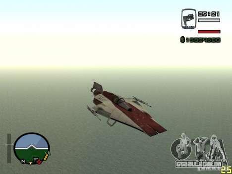 Lutador da cidade alienígena para GTA San Andreas