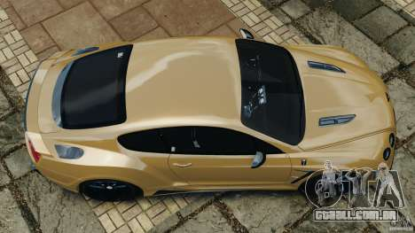 Bentley Continental GT Premier v1.0 para GTA 4 vista direita