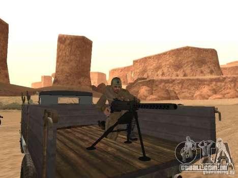 Um soldado soviético para GTA San Andreas